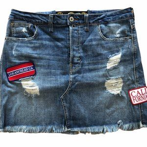 RARE Guess Jeans Skirt Size 34